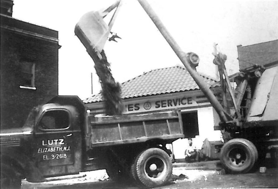 Vintage Lutz Dump Truck (EDITED)